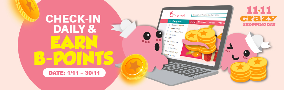 Check -in to earn BPoint